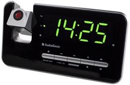 AudioSonic CL-1492 Uhrenradio silber - 1