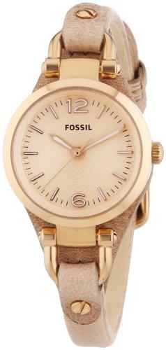 Fossil Damen-Armbanduhr Analog Quarz Leder ES3262 -
