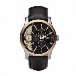 Fossil Herren-Armbanduhr Halbautomatik ME1099 Twist Rose Gold IP -