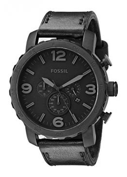 Fossil Herren-Armbanduhr XL Trend Analog Leder JR1354 -