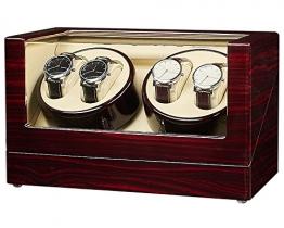 JQUEEN Automatische Uhrenbeweger Geheime Kiste Aus Holz -