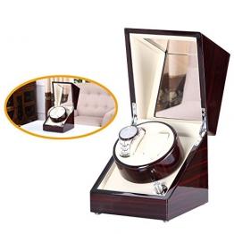 [Pure handgefertigt] Uhrenbeweger mit japanischen Mabuchi Motor schwarz -