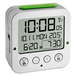 TFA 60.2528.54 Bingo Funk Wecker mit Temperatur - 1