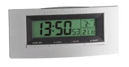 TFA 98.1030 Funkuhr mt Temperatur - 1