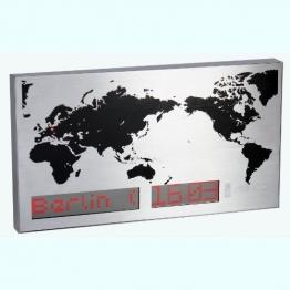 Weltzeituhr Wanduhr Uhr - 1