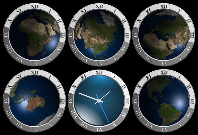 Zeitzonen der Welt