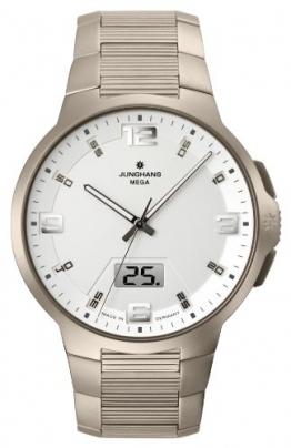 Junghans Herren-Armbanduhr Voyager Funk Titanium 030/2903.44 - 1